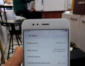 ترمیم سریال و شبکه گوشی Xiaomi mi 5x