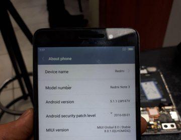 تعمیر شیائومی حل مشکلات نوت ۳ شیائومی و ترمیم شبکه و سریال Xiaomi note 3 qualcomm