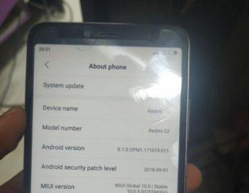 ترمیم بوت و خاموشی و سریال Xiaomi Redmi S2 Y2