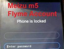 حل مشکل خاموشی و اکانت Flyme گوشی meizu m5